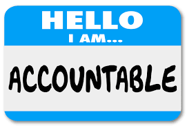 Being Accountable (VIDEO)