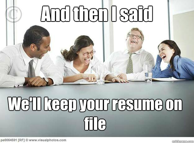"""We'll Keep Your Resume on File."" Does It Mean Anything? (VIDEO)"