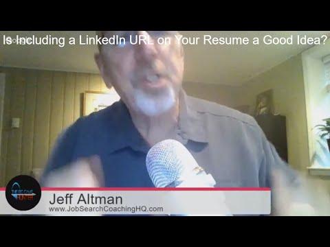 Should I Include My LinkedIn URL on a CV or Resume? | TheBigGameHunterTV