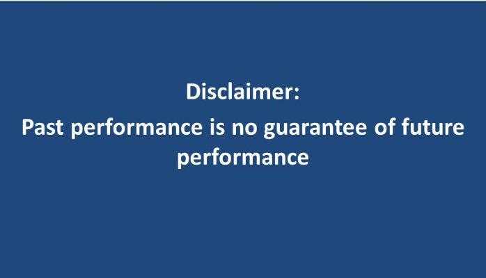 Past Performance Does Not Guaranty Future Results and Other Mistakes (VIDEO)