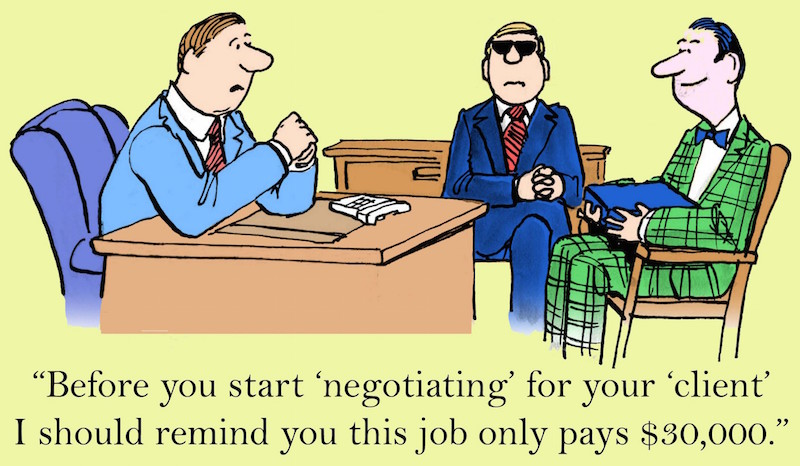 Your Best Position for Negotiating Salary | Job Search Radio