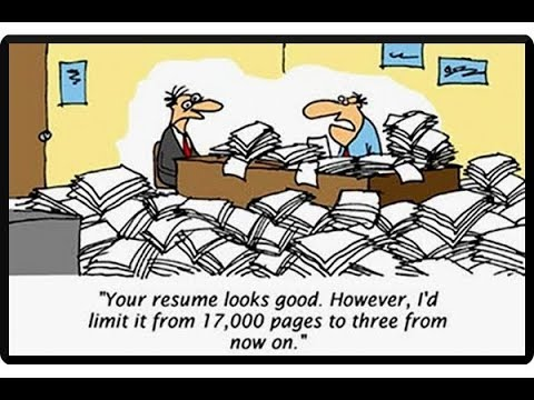 Stupid Resume Mistakes: A Few Doozies!