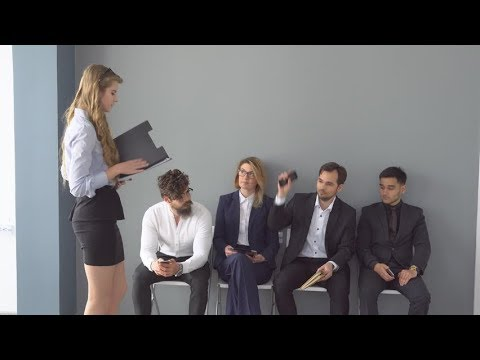 How to sit during an interview